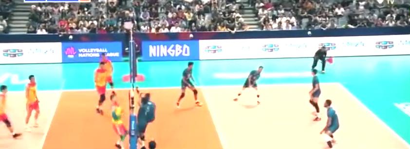 世界男排联赛单项最佳球员集锦,得分王江川开篇!
