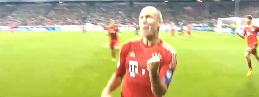 拜仁欧冠30大进球:马凯开场11秒破皇马,罗本绝杀多特蒙德