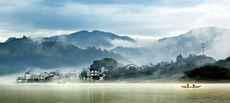 想体验江南鱼米之乡的风光吗?那么就来新安江走一趟吧