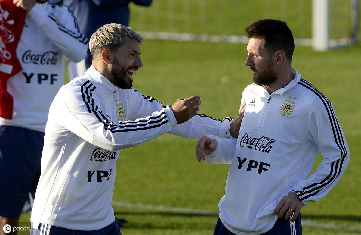 阿根廷队在西班牙马略卡岛帕尔马备战2019年国际足球友谊赛