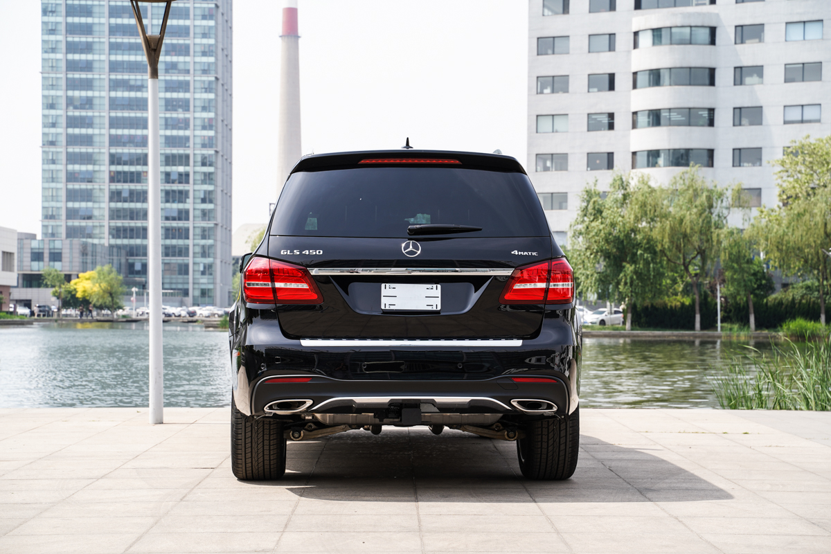 平行进口车实拍|全尺寸SUV 2019款奔驰GLS 450成功人士不二选择