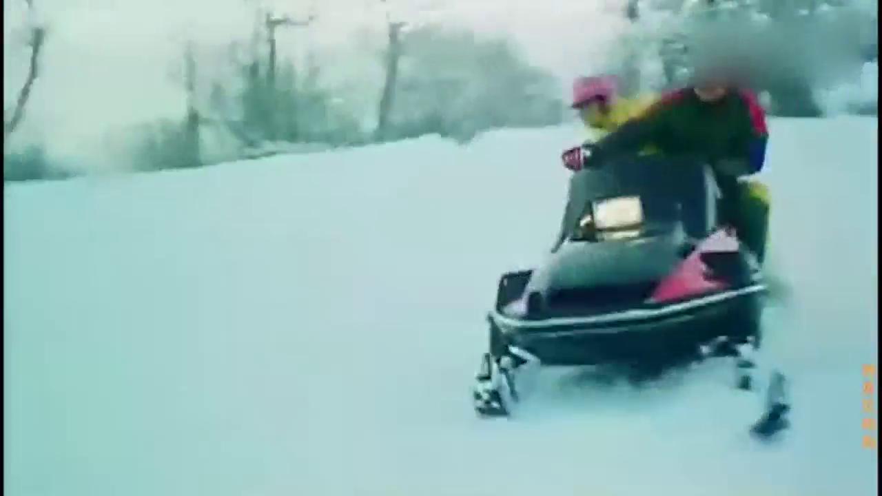 痴情男找富商滑雪场决斗,用上套路还把自己坑得不轻