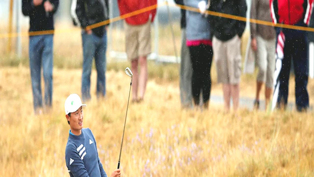 高尔夫英国公开赛 李昊桐并列第40位如愿晋级
