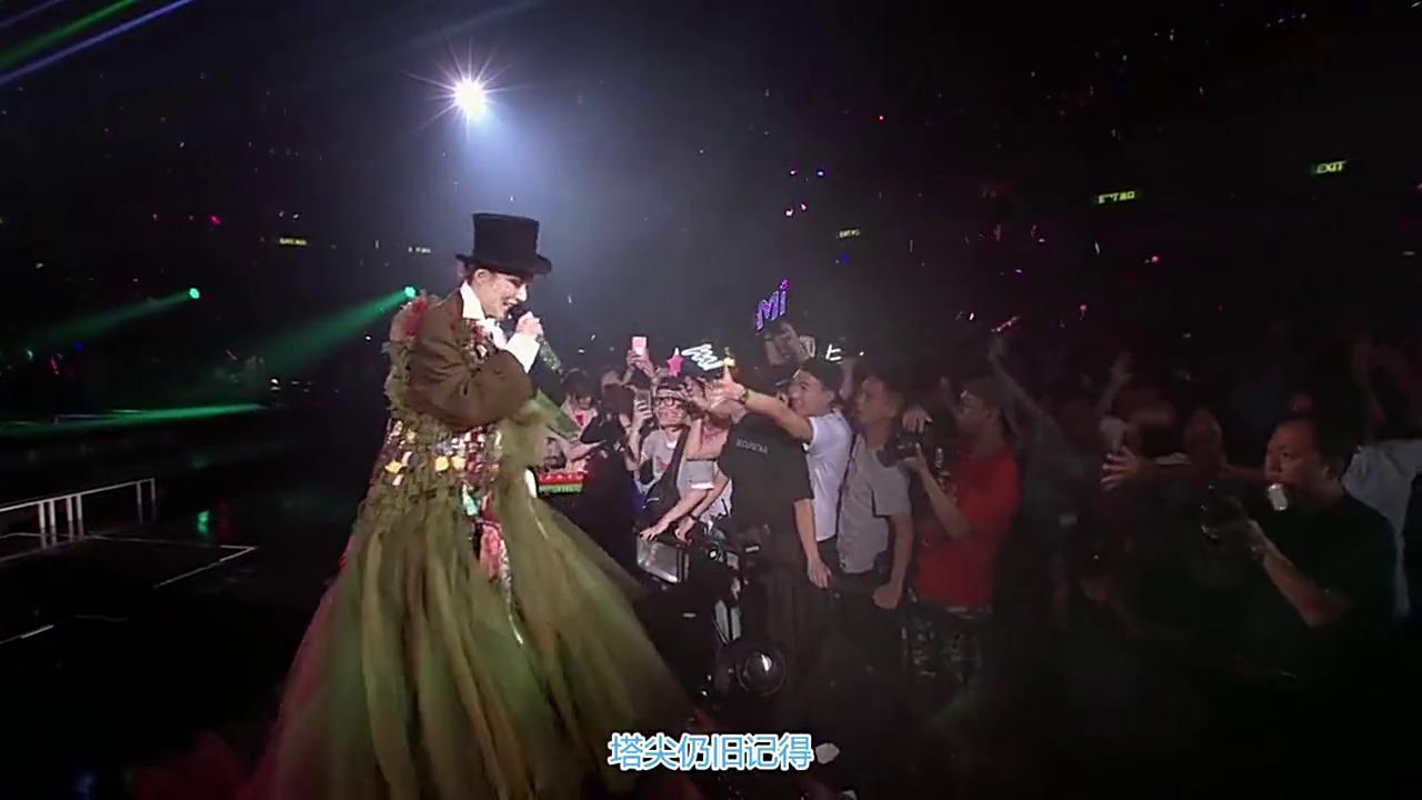 郑秀文演唱《终身美丽》《我们的主题曲》,古天乐出场,观众都沸