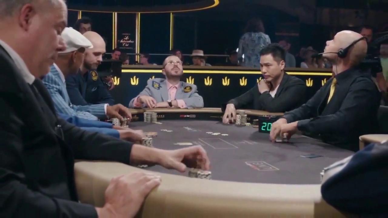 德州扑克:这个操作比较狠,撞到钢板不后悔