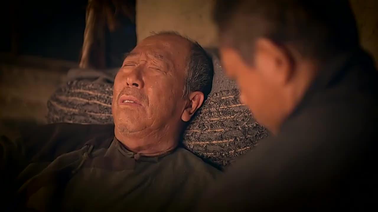 老头子快死了单身儿子床边宽慰说我生个足球队给你上坟