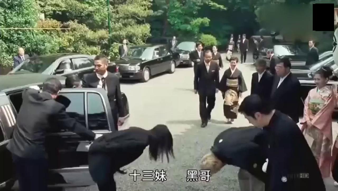 古惑仔:山鸡日本结婚,洪兴堂主全部出动庆祝