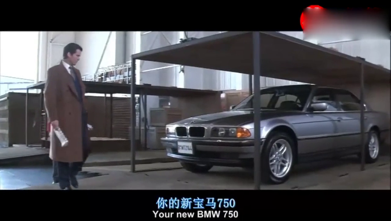 007的宝马750,科技领先30年,根本就是地面战斗机啊