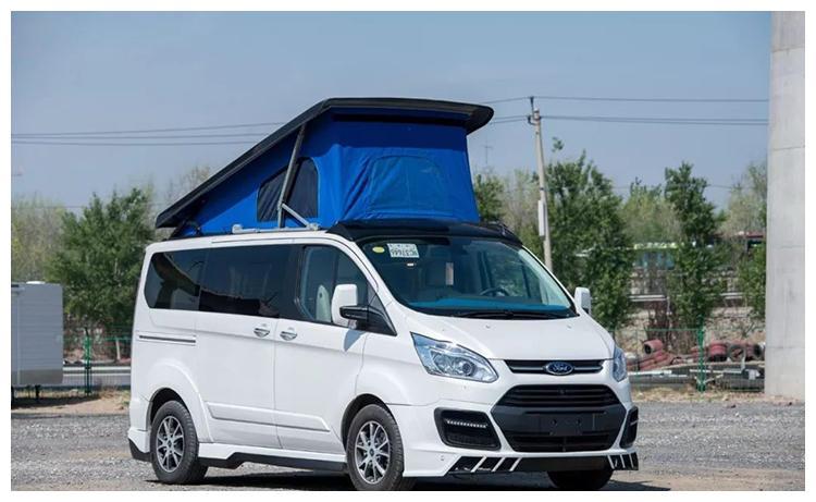 福特升顶房车,能带步、能自驾,还能躺在车顶看星空