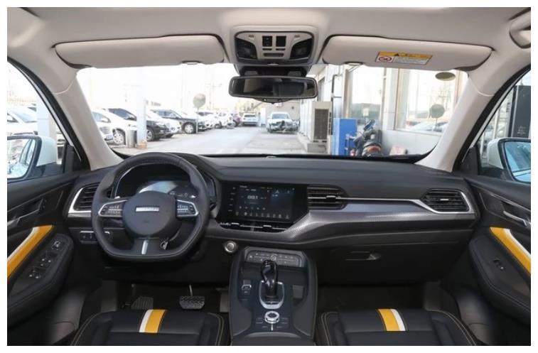 哈弗F7x上市,外观时尚靓丽,搭载L2级别自动驾驶