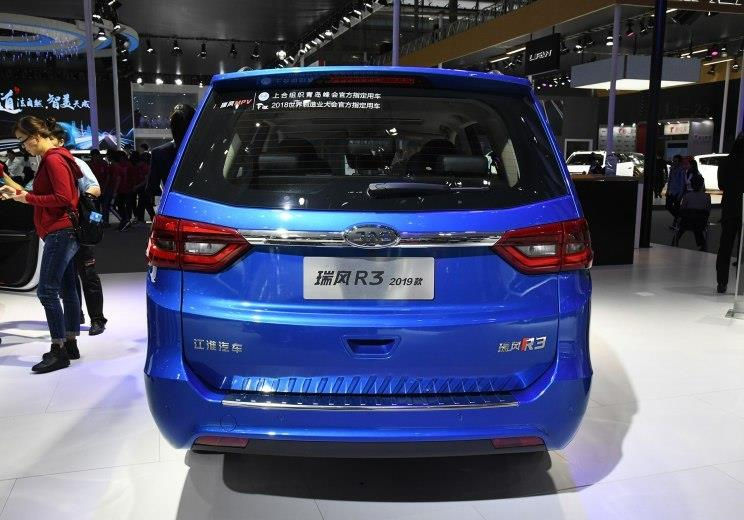 售7.48万起 瑞风M3/R3新增车型上市