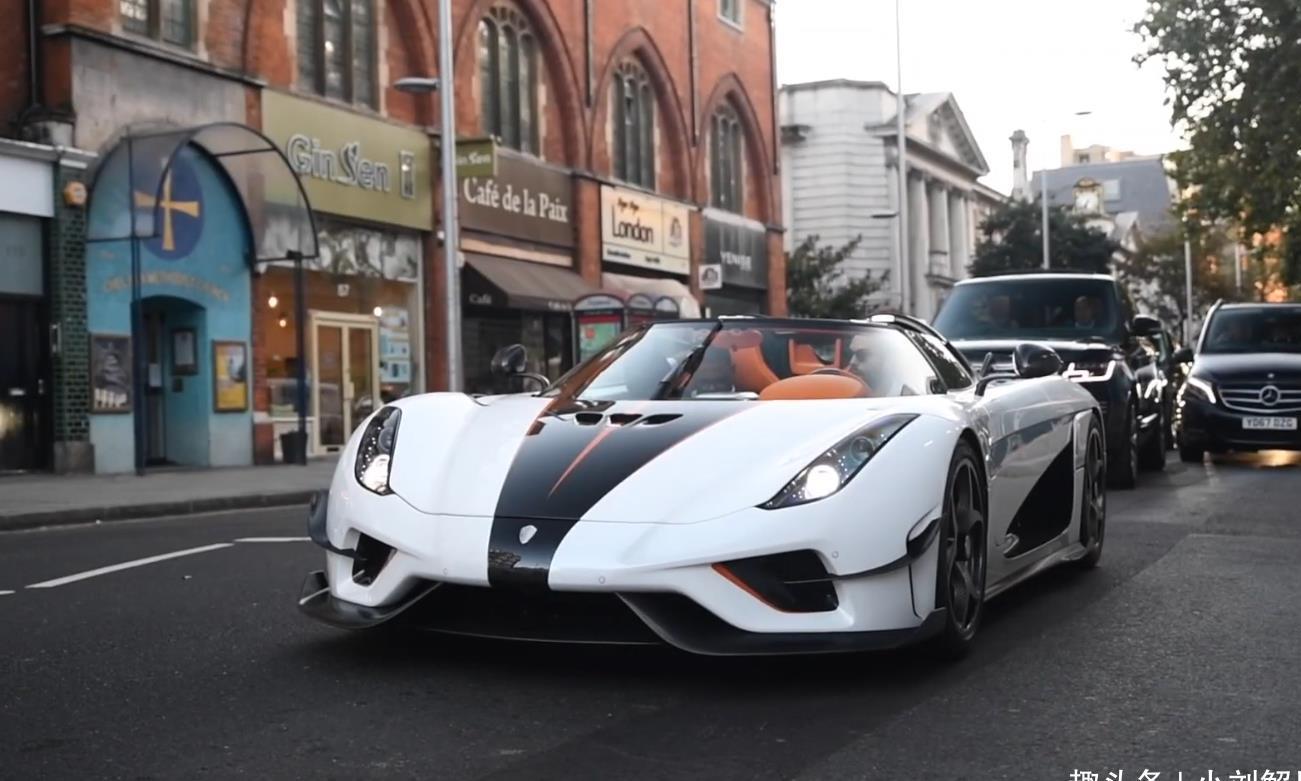 伦敦街头看到一台混动跑车,全球限量80台,保养一次50多万!