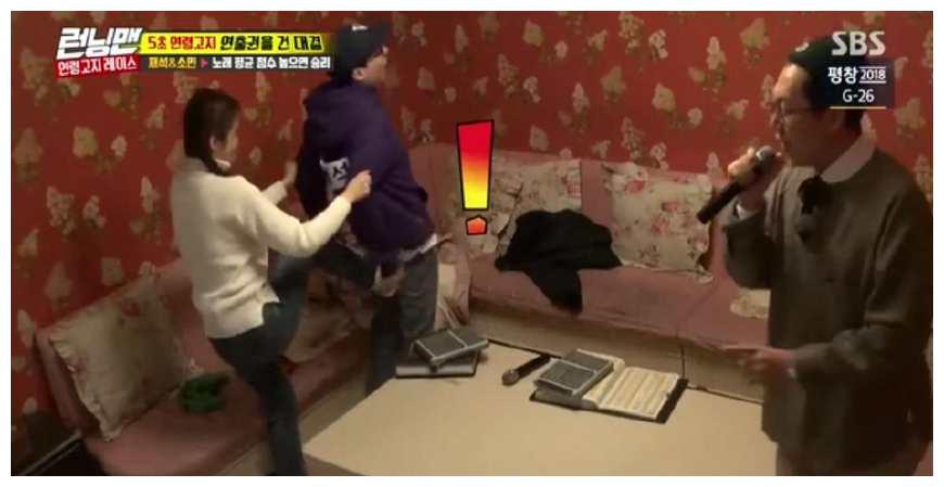 《韩国跑男》刘在石更喜欢宋智孝还是全邵旻?看看这些你就知道了