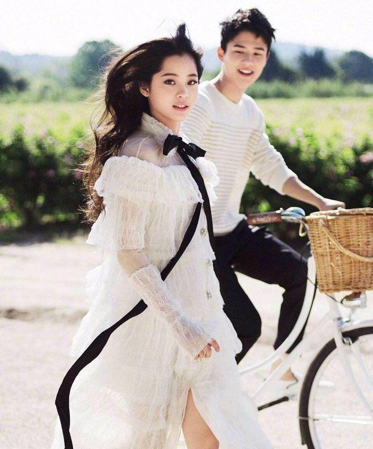 欧阳娜娜与陈飞宇,刘昊然的壁纸,都是甜甜的青春味道图片