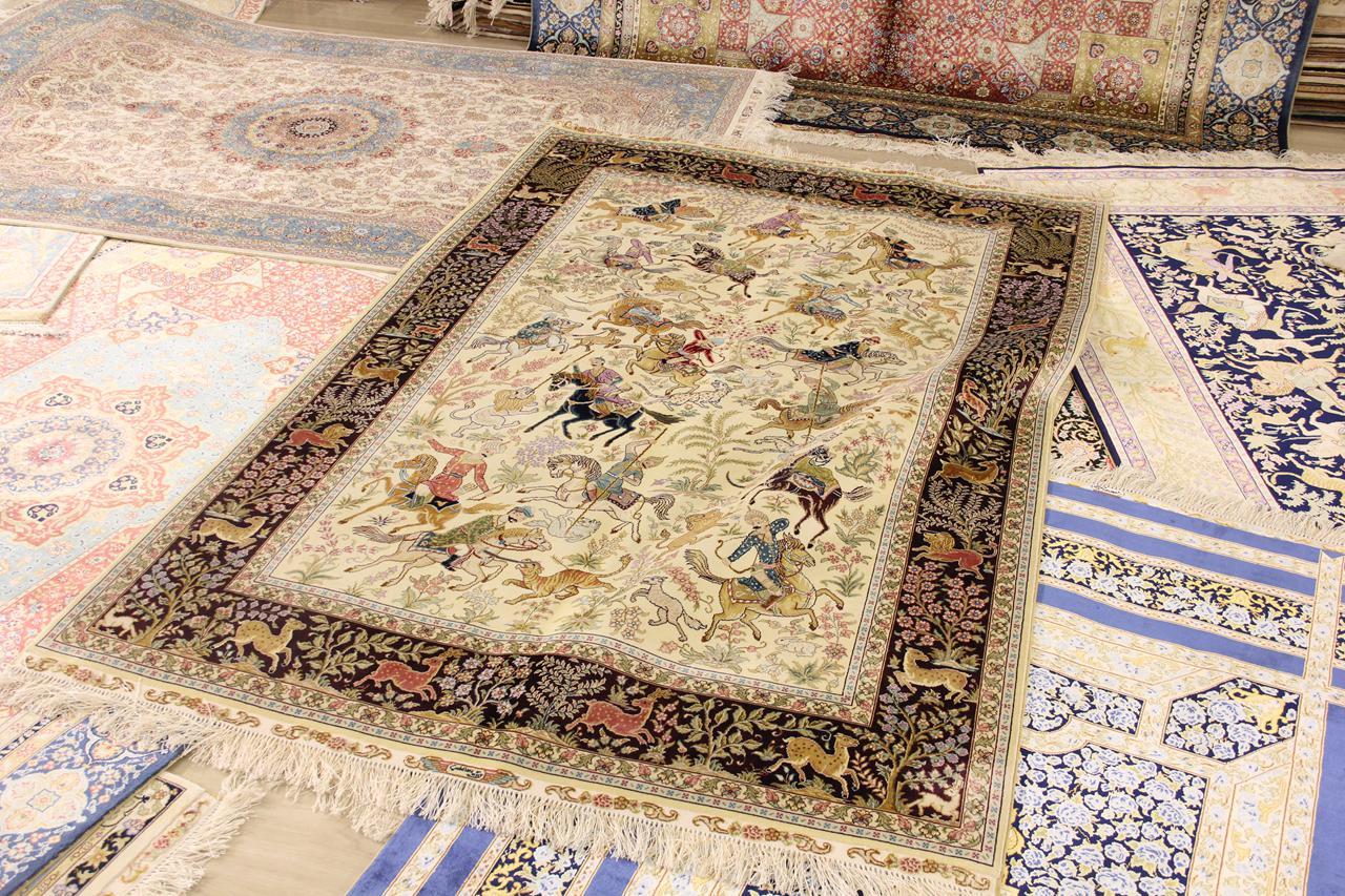 浓郁波斯风情手工地毯,充盈你的艺术人生