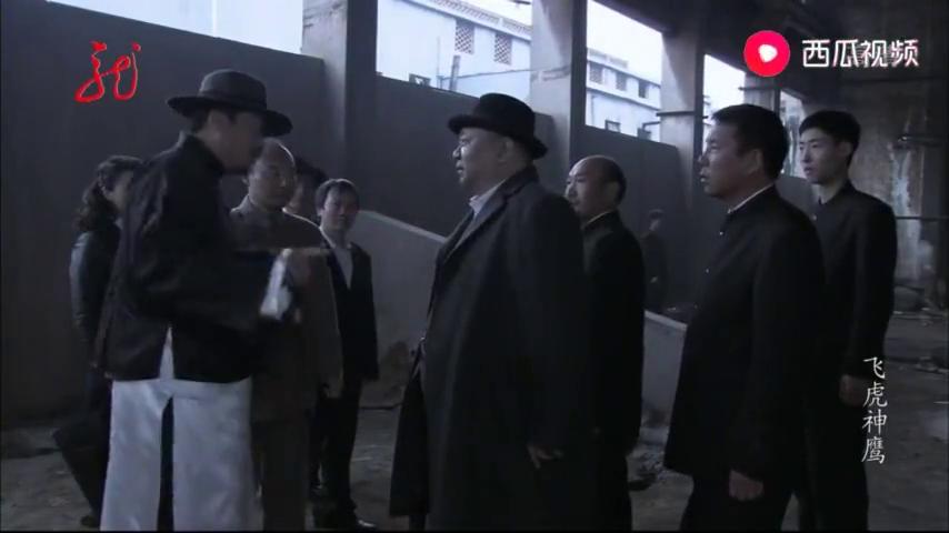 飞虎神鹰:李康和陈恭鹏,绑架小锦娣等人,准备用来威胁燕双鹰