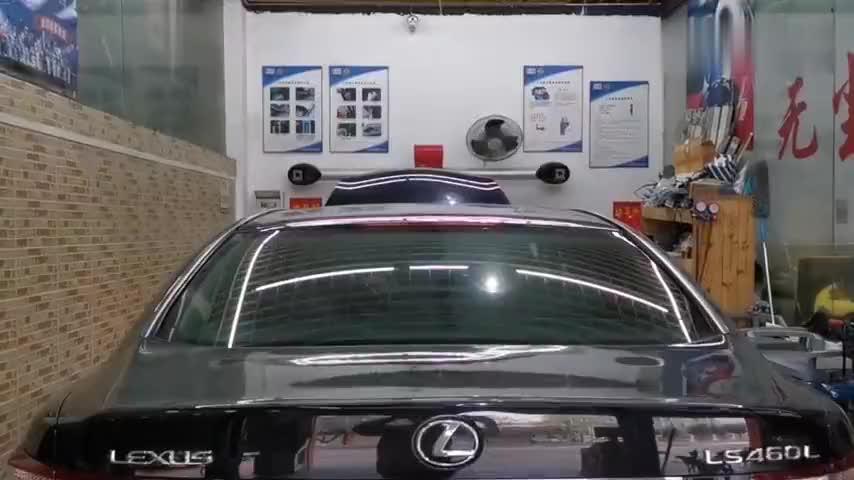 视频:顺德车友花28万买辆08款雷克萨斯ls460l12年的情怀到手爱护有加