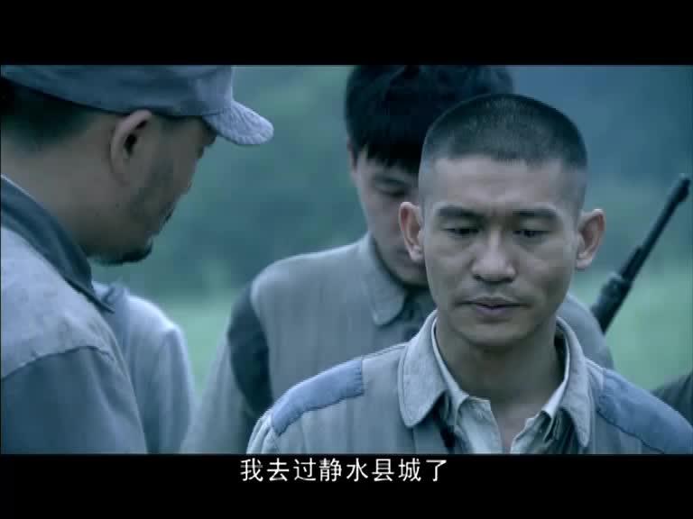 连长知道存金去过静水县,连长认为存金造谣,连长安慰独立团同志