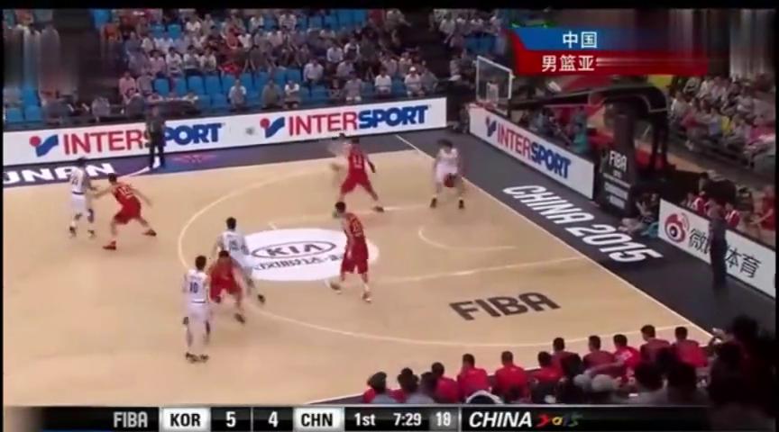 回顾-男篮亚锦赛,中国男篮惊天大翻盘韩国队,网友-看完想哭