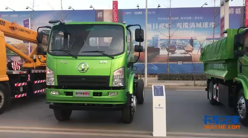 国六发动机+超实用内饰这款陕汽轩德翼6自卸车内外兼修