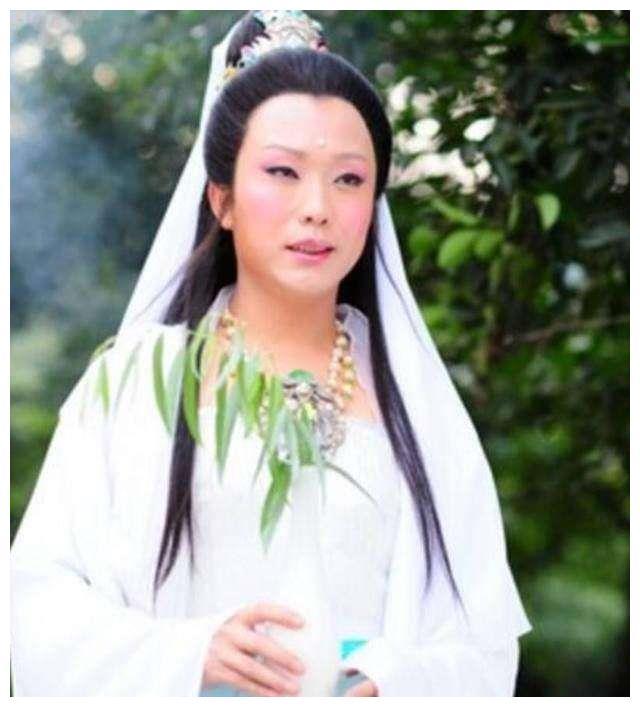 5个观音扮演者,林心如最美,左大玢最经典,刘烨的造型辣眼睛!