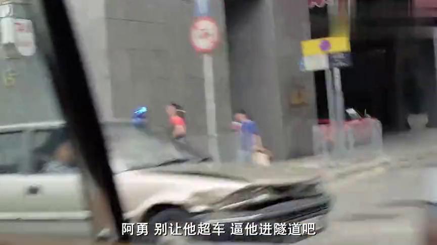 影视:歹徒太猖狂竟不把警察放眼里,一车人敢对抗警察一个警队