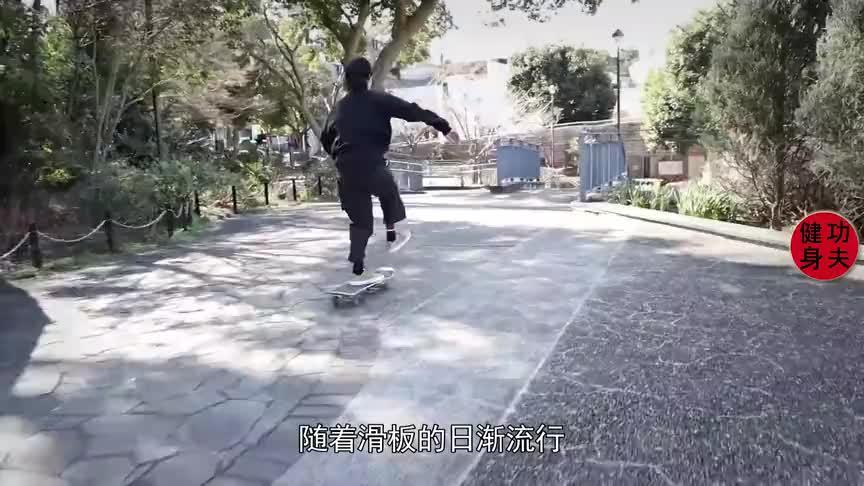 中国滑板第一人有多厉害,小伙辍学苦练滑板为国争光夺得金牌