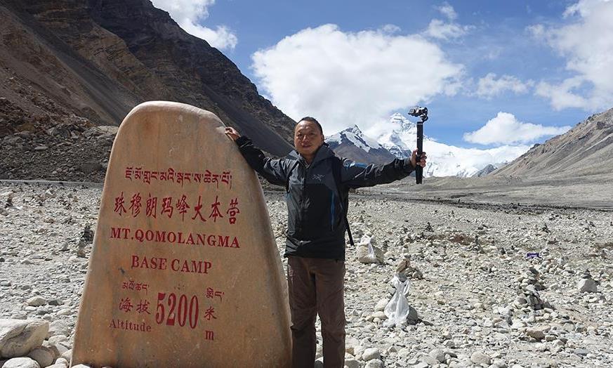 自驾游西藏,带你去看珠峰大本营,这里是我此生能到达的最高点