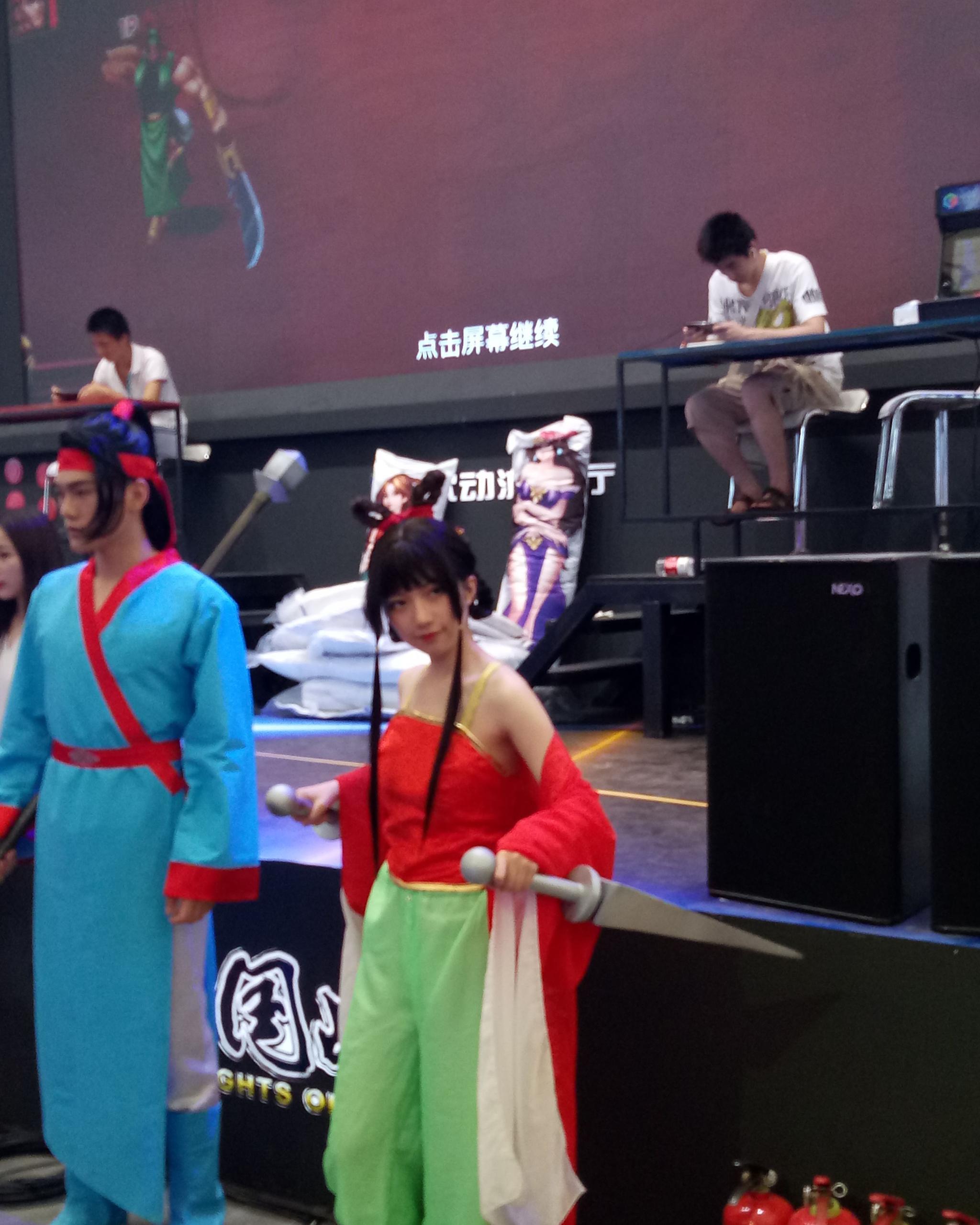 [百家探秘]带你来看看上海chinajoy这里