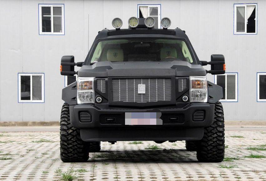乔治巴顿战车2014款 基本型,独特的外观设计,符合大众的审美