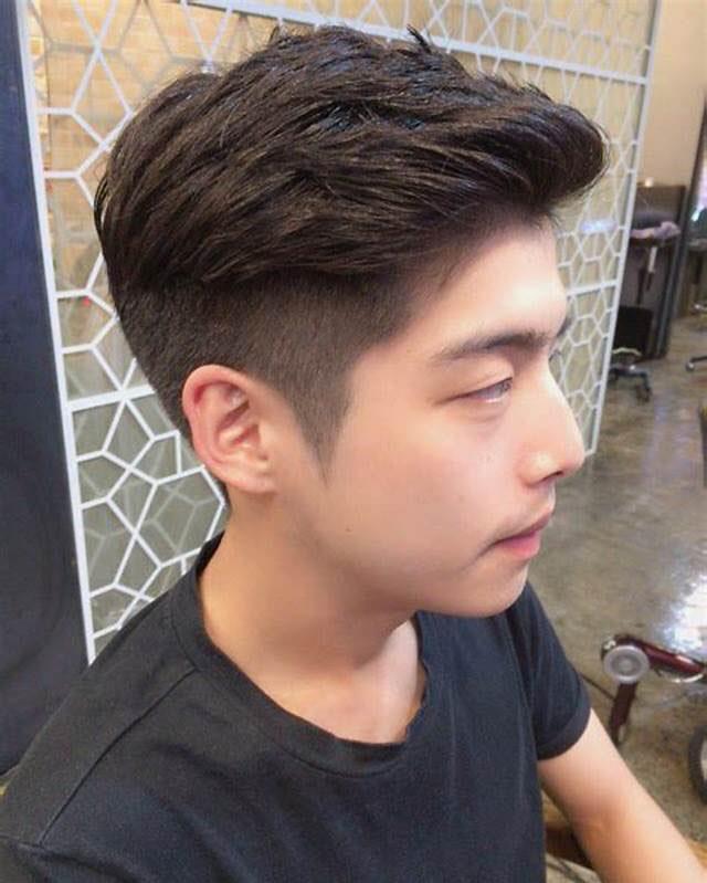 2018韩国流行的男士发型,网友:还是国内的帅图片