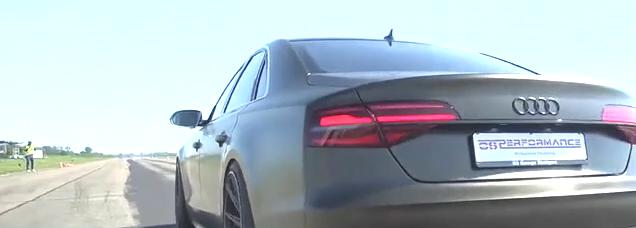 奥迪S8单挑宝马M6,时速50公里后才知道差距有多大