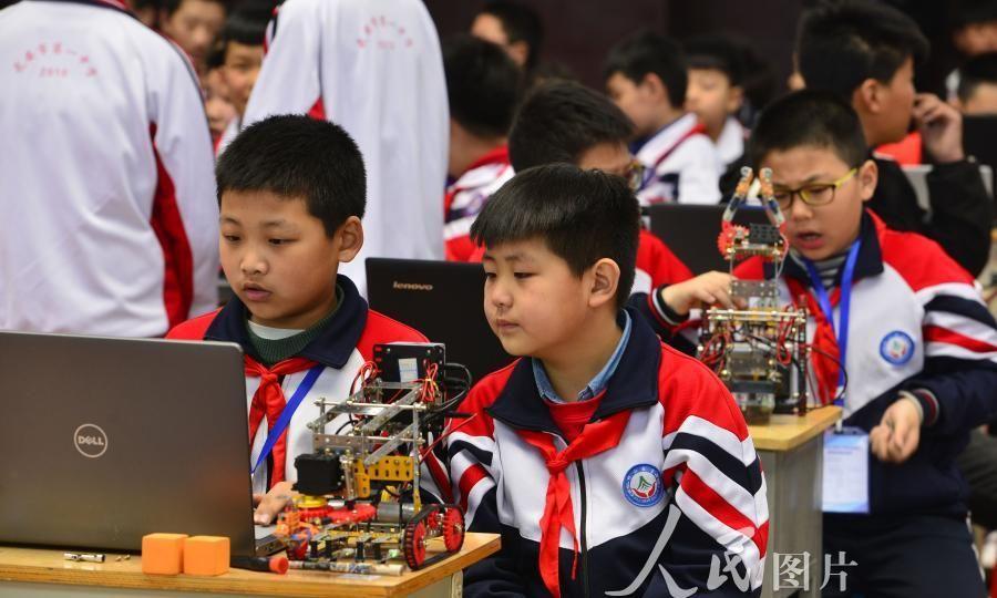 河北邯郸举办中小学生教育机器人暨创客竞赛