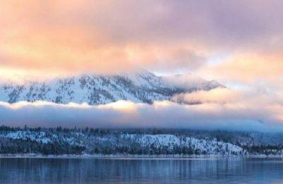 太浩湖,藏身于加州与内华达州的交界处,充分显示大自然的魅力