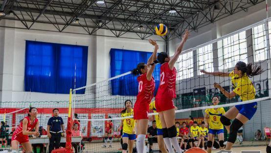 全省排球锦标赛女子甲组比赛在泰安圆满收官