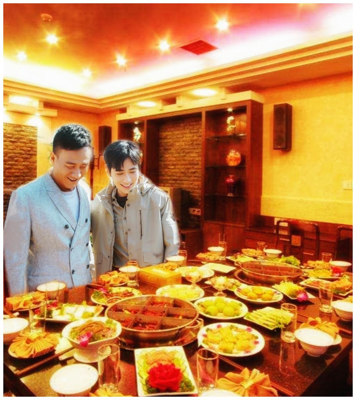朱一龙和胡军的火锅之旅被私生偷拍?小笼包:我们陪吃是专业的!