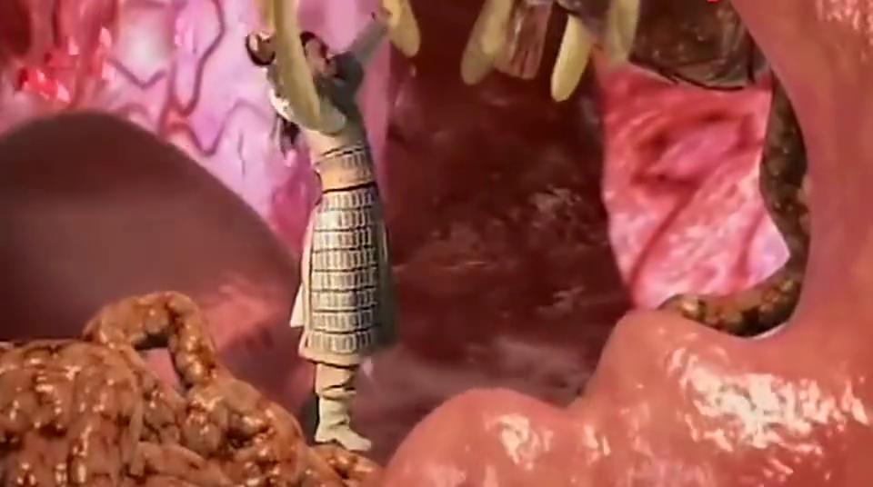 猪妖肚子肥的流油,神仙为了不让他吃人,进肚子里摘掉他器官