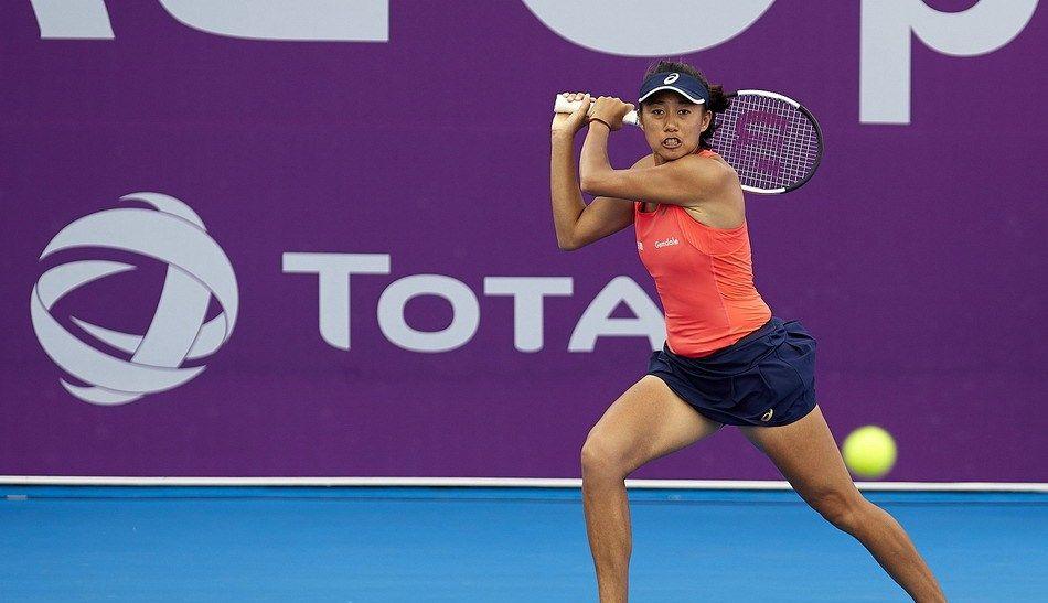 2020年卡塔尔网球公开赛首轮,中国金花张帅0比2纳瓦罗被淘汰