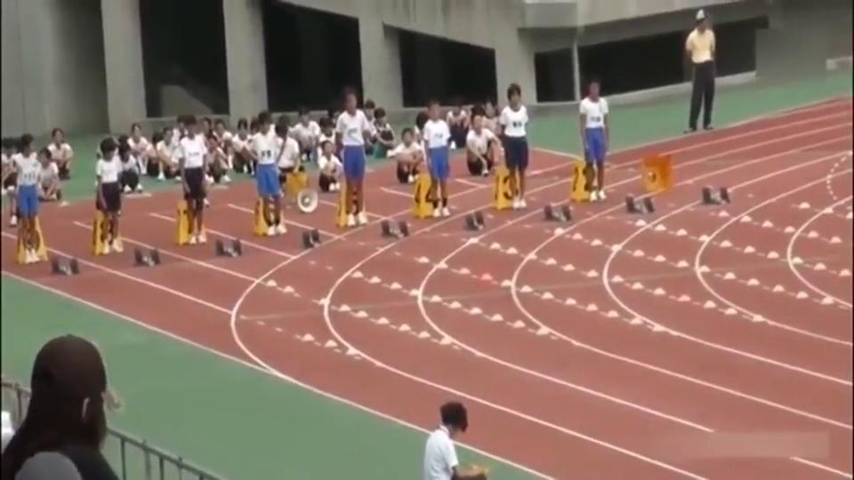 下一个博尔特!日本小学生百米成绩12秒,甩开亚军15米