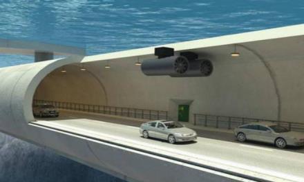 中国基建又火了!耗资42亿打造全球首个水下立交桥,看完都不敢信