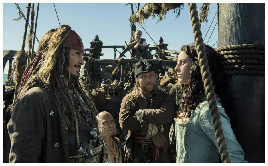《加勒比海盗5》海盗铁三角都聚齐了这种情怀就够了!