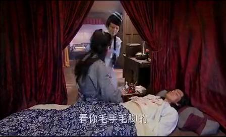 孙二娘将武松带回十字坡养伤,为了能让武松好好休息下了瞌睡药