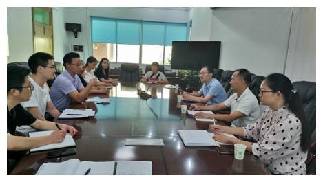 达州市疾控中心到大竹县开展职业病防治项目工作督导