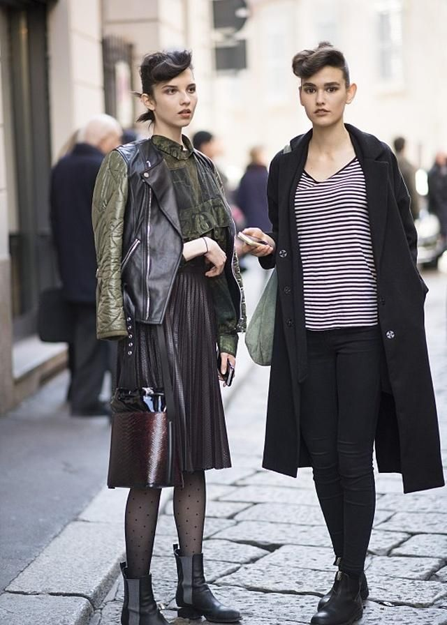 街拍:时尚达人的潮流穿搭,会让你成为想要的样子
