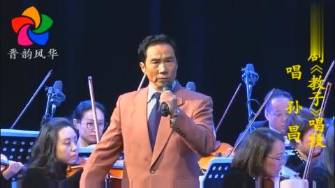 晋剧表演艺术家孙昌《教子》唱段
