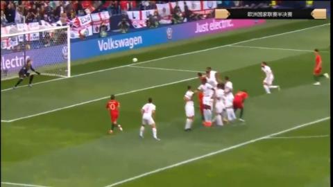 逆天电梯球C罗纳尔多标志性电梯任意球破门门将毫无反应