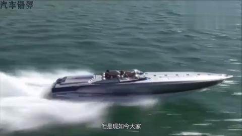 比车还便宜的游艇,开起来像飞碟,纯电力驱动