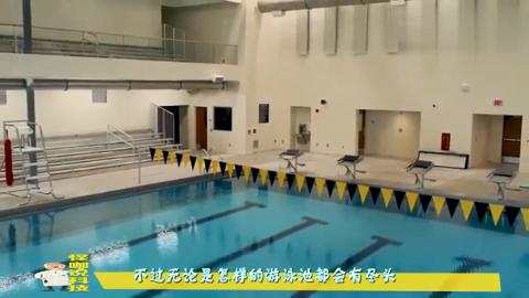 国外高科技泳池,仅有一张床位大小,但怎么游都游不到尽头