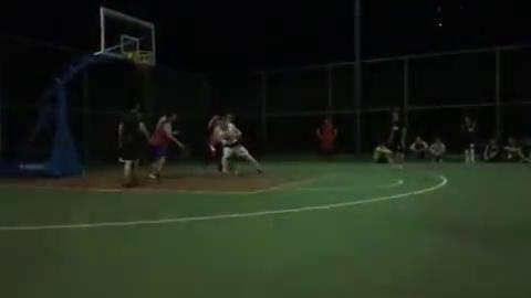 江西理工大学南昌校区3v3篮球赛,全校第一pf突破得分