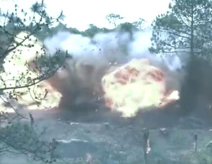日军碉堡被轰炸机炸完竟毫发无损,国军指挥官也纳了闷了